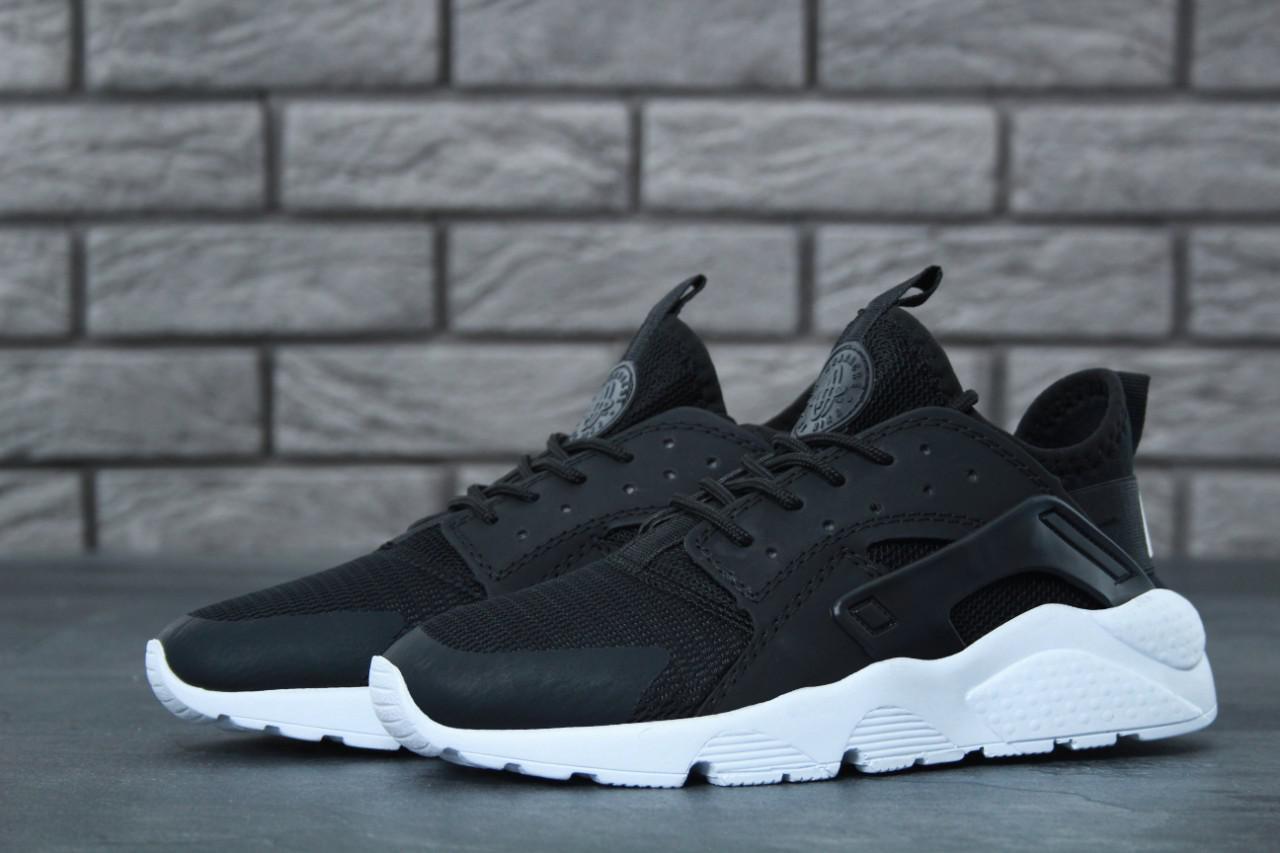 Кроссовки женские Nike Huarache Ultra черные топ реплика