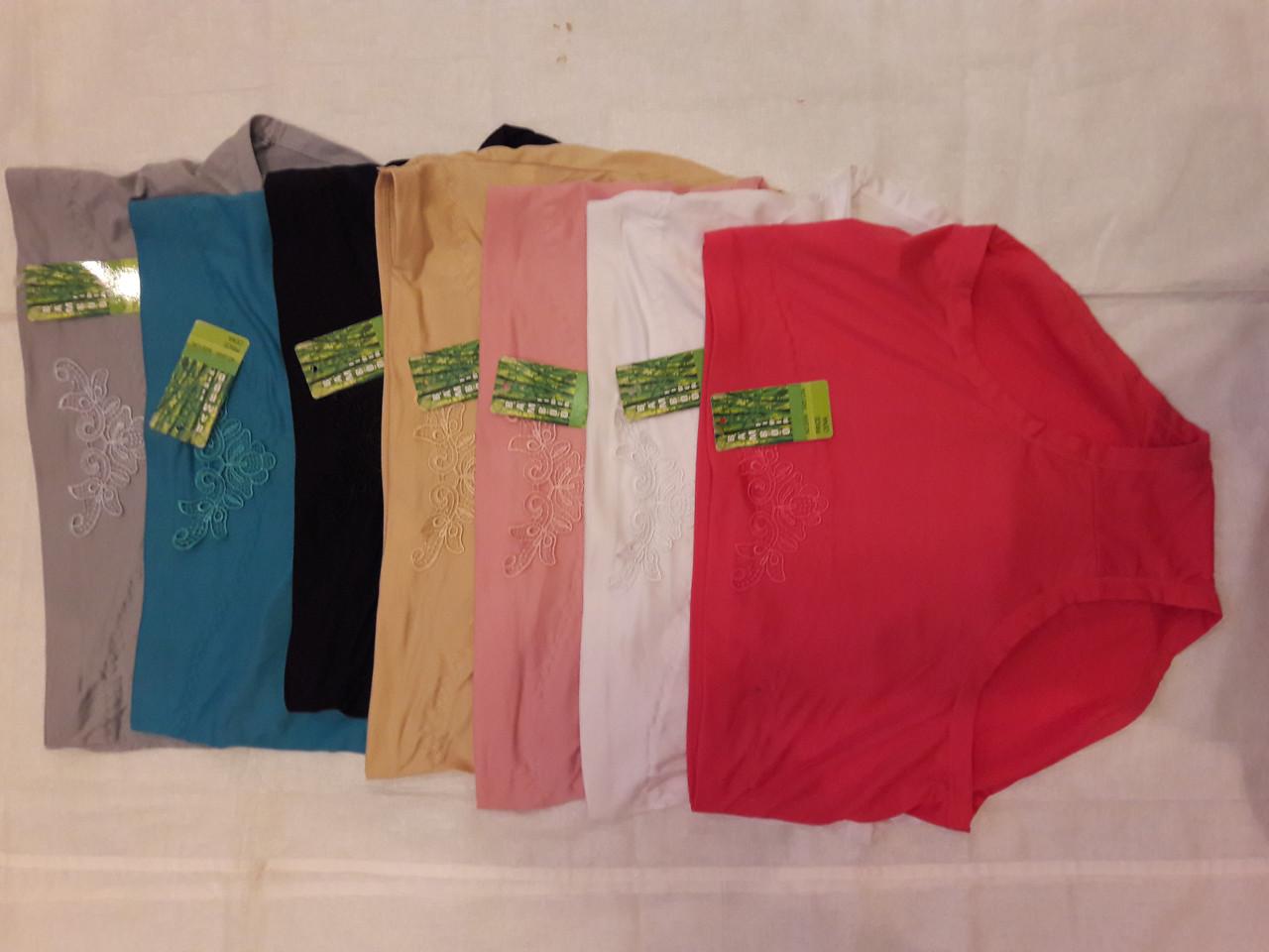 Труси жіночі бамбукові великих розмірів  продажа 67b26ff364398