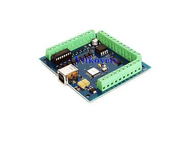 ЧПУ контроллер Mach3 USB ST-USB  STB4100  на 4 координаты