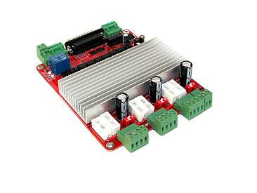 Контроллер ЧПУ на 3 оси 3.5А CNC RED