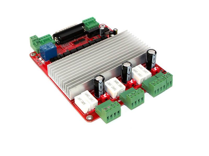 Контроллер ЧПУ на 3 оси 3.5А CNC RED, фото 1