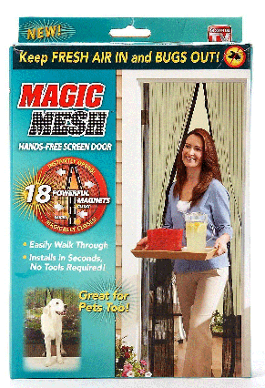 Москитная сетка на магнитах Magic Mesh, фото 2