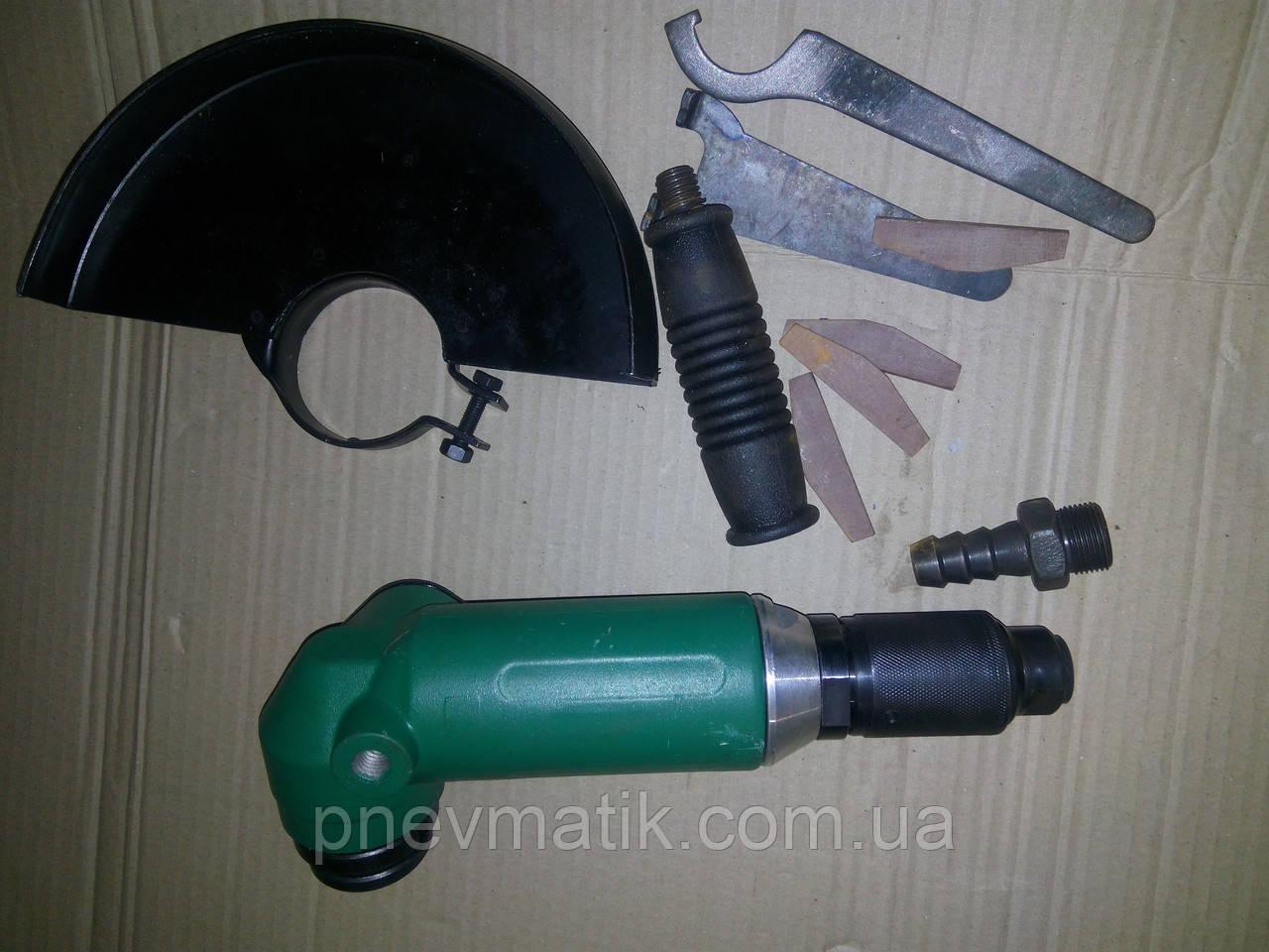 Пневмошлифовальная ручная машина углового типа ПШМ-180у