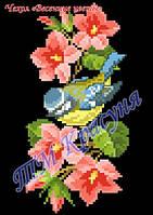 """Заготовка под вышивку чехла на телефон """"Весенние цветы"""""""