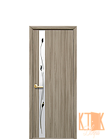 Межкомнатные двери Новый Стиль Злата с рисунком (сандал) экошпон