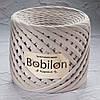 Трикотажная пряжа Bobilon Medium (7-9мм). Пудровый