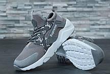 Кроссовки женские Nike Huarache Ultra Supreme серые топ реплика, фото 2