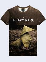 Футболка 3D Heavy Rain, фото 1