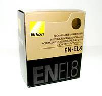 Аккумулятор EN-EL8 для NIKON COOLPIX P1, P2, S1, S2, S3, S5, S6, S7, S7C, S8, S9, S50, S50C, S51 S51C S52 S52C