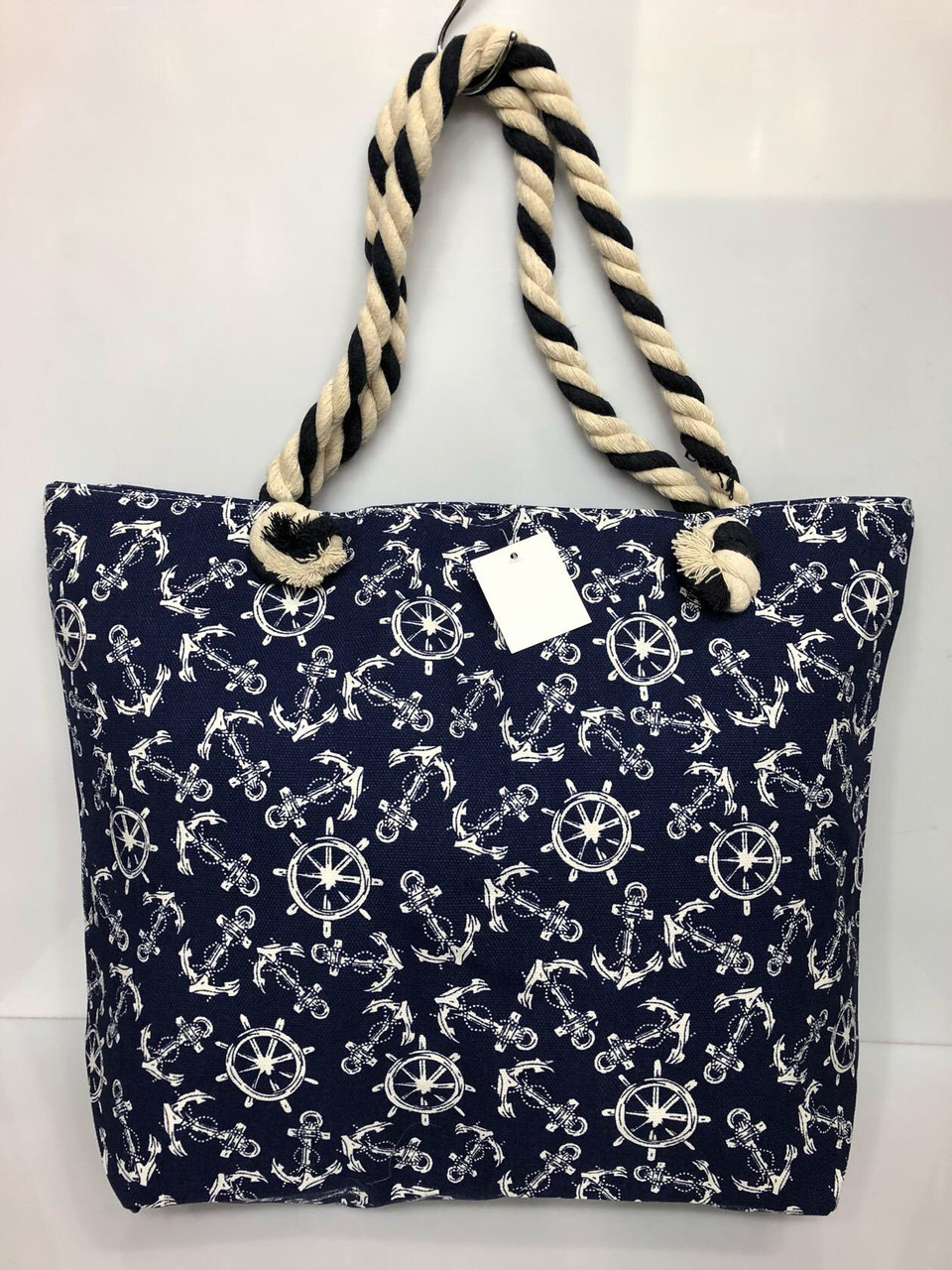 Пляжная сумка на канатах Якорьки