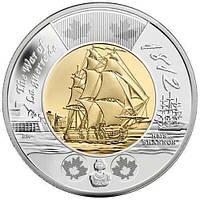 2 долара 2012 Канада - Фрегат Шеннон. aUNC