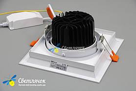 Светильник карданный светодиодный поворотный 20w Feron AL201 COB 4000К, фото 3