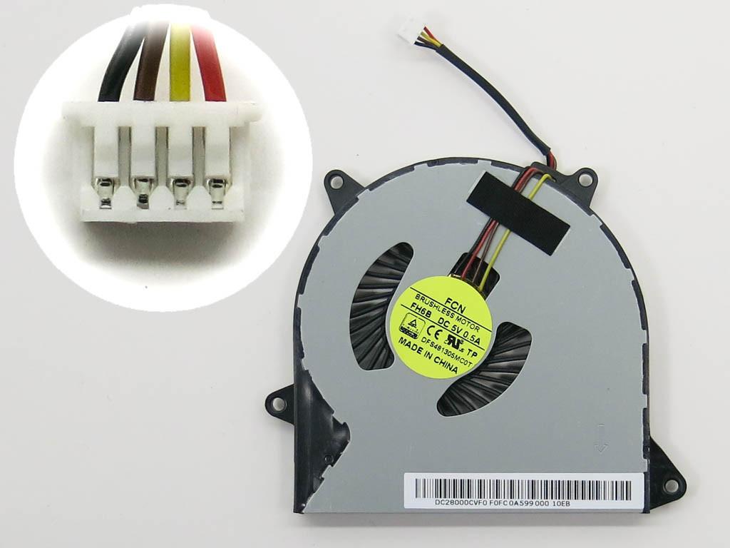 Вентилятор (кулер) Lenovo IdeaPad 100-15IBD, 110-14IBR, 110-15ACL (DC2 2