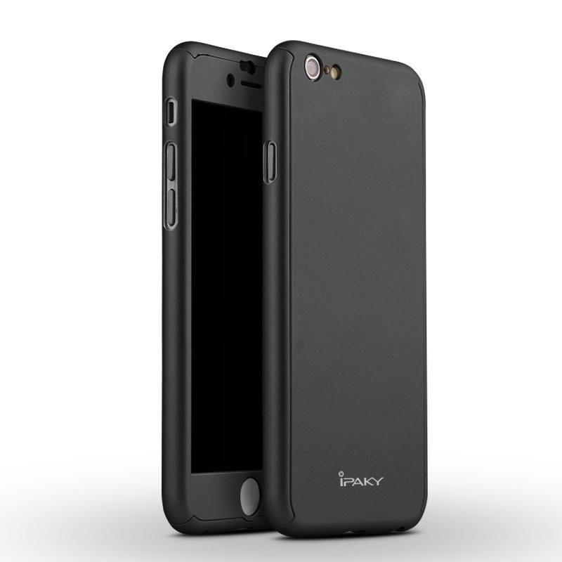 Чехол Ipaky для Iphone 6 / 6s бампер + стекло 100% оригинальный black 360