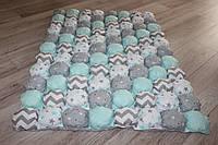 Одеяло для новорожденных двухсторонние