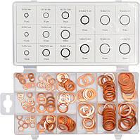 Набор медных колец YATO YT-06871 (150 предметов)