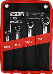 Набор разрезных ключей Yato YT-0143 (4 предмета)