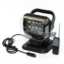 Фароискатель LED 50 W. Светодиодный фонарь на дистанционном управлении