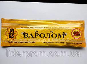 Варолом,  1 упаковка 10 пластин от клеща ., фото 2