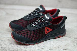 Мужские кроссовки Reebok черного цвета