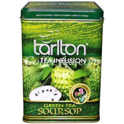 Чай зеленый Tarlton с саусепом, 250 г ж/б