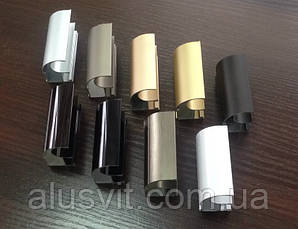 Конструктор для раздвижных систем купе из алюминиевого профиля (3х дверный), фото 3