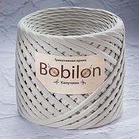 Трикотажная пряжа Bobilon Medium (7-9мм). Капучино