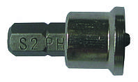 """Набор бит с ограничителем Ph2x25мм ¼"""" 10шт S2 (блистер)  sigma 4010281"""