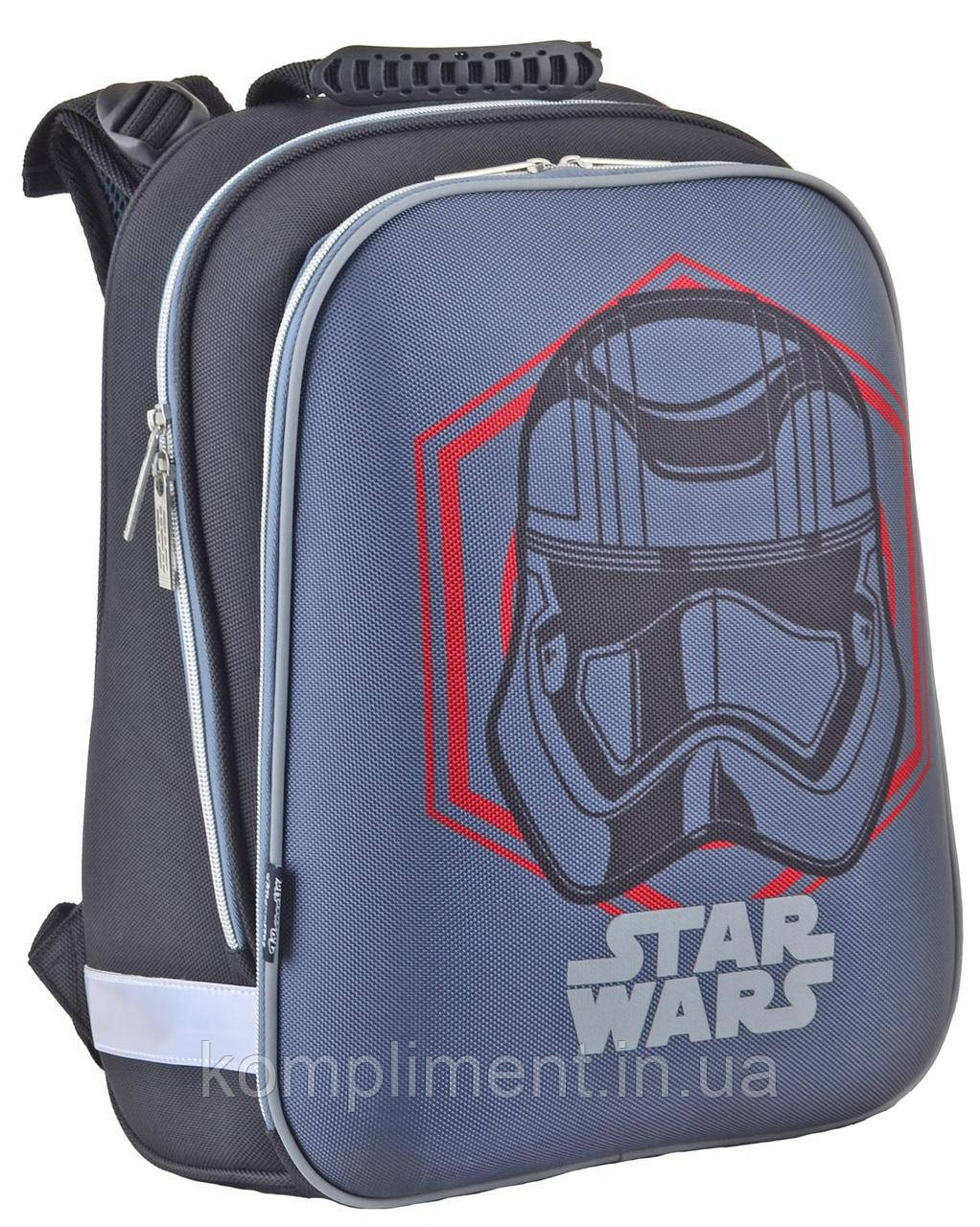 Ранец школьный жестко-каркасный  H-12 Star Wars, 38*29*15, 1Вересня