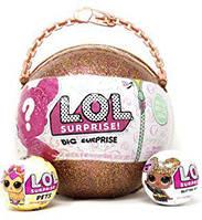 Огромный золотой шар LOL + 50 сюрпризов, фото 1