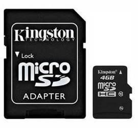Карта памяти microSDHC 4 Gb Kingston