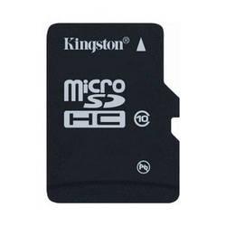 Карта памяти microSDHC 16 Gb class 10 Kingston