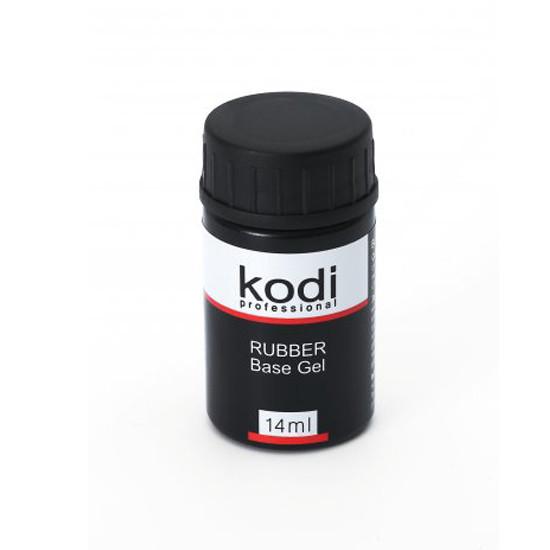 Kodi(Коді) Rubber Base Каучукова основа під гель лак 14 мл (без пензлика)