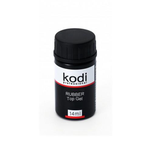 Kodi(Коді) Rubber Top Каучукове верхнє покриття для гель лаку 14 мл (без пензлика)