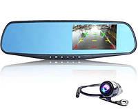 Зеркало видеорегистратор с камерой заднего вида в машину