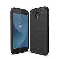 Чехол Carbon для Samsung J5 2017 J530 J530H бампер оригинальный Black
