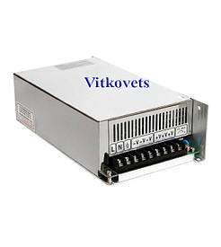 Импульсный блок питания S-500-36, 36V, 13.89А, 500W