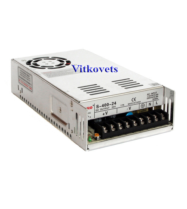 Импульсный блок питания S-400-36, 36V, 11А, 400W
