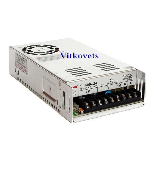 Импульсный блок питания S-250-48, 48V, 5.2А, 250W