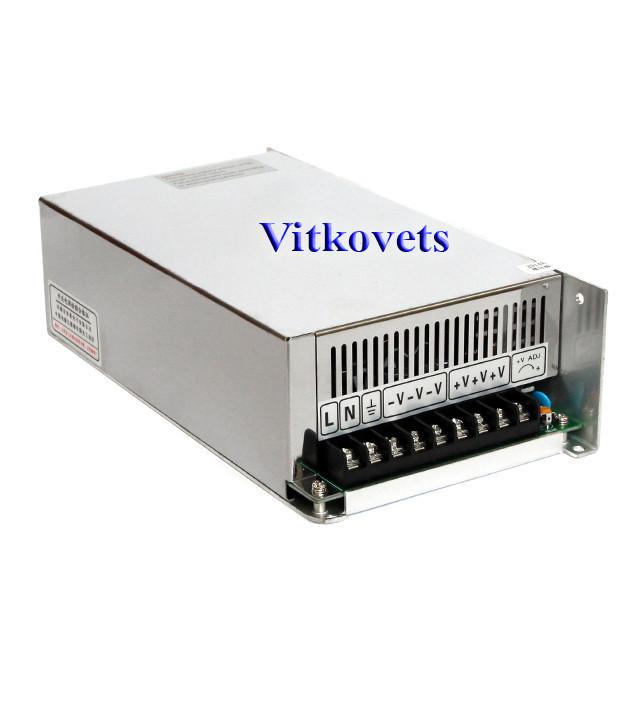 Импульсный блок питания S-500-48, 48V, 10.4A, 500W