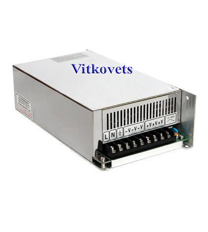 Импульсный блок питания S-600-48, 48V, 12.5А, 600W, фото 2