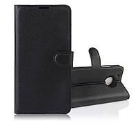 Чехол для Motorola Moto G5 / XT1676 книжка кожа PU черный