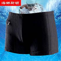 Плавки мужские купальные HNSD-9761 чёрный, фото 2