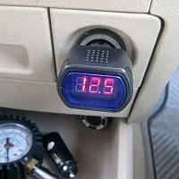 Автомобильный Вольтметр аккумулятора в прикуриватель