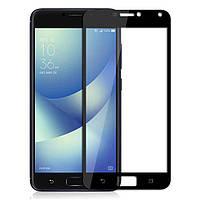 Защитное стекло Asus ZenFone 4 Max / ZC554KL полноекранное черное