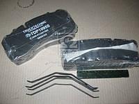 Колодка тормоза диск (компл. на ось) BPW,IVECO,MAN 2000,TGM, MB ATEGO, SAF (пр-во TruckTechnic) TDP