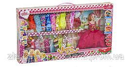 Кукла типа Барби с нарядами (D-23-1)