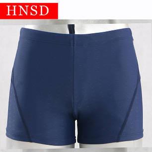 Плавки мужские купальные водонепроницаемые быстросохнущие HNSD-3888 синий, фото 2