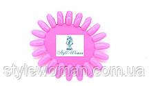 Типсы для образцов ромашка, для палитры лаков розовая 20 ноготков