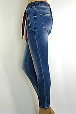 Джинси жіночі з поясом на резинці Sherocco, фото 3